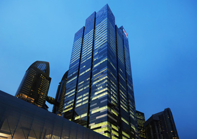 Asia Square Towers The Cube Scientific Fire Services